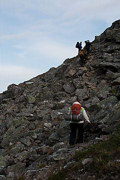 Kiipeilyä Pirunportilla